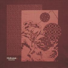HOKUSAI FUROSHIKI(WRAPPING CLOTH) RED