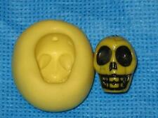 Skull Flexible Push Mold Food Safe Silicone #858 Cake Chocolate Resin Candy