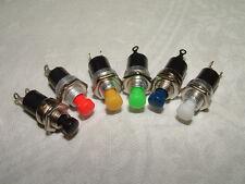 3 Miniature Pushbutton Switch Momentary Push to Make