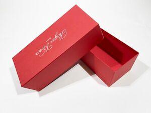 """SCATOLA CONFEZIONE LUSSO - GIFT BOX """"ROGER VIVIER"""" CARRY ORIGINALE (32x14x11 CM)"""