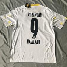 #9 Haaland Jersey BVB Dortmund 2020-2021 Third Football Soccer Men's Shirt White