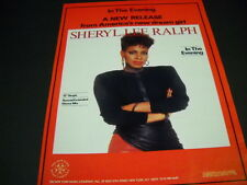 SHERYL LEE RALPH America's New Dream Girl 1984 PROMO POSTER AD mint condition