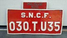Original Lokschild S.N.C.F. 030.T.U35