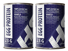 Sport Nutrition Powder - EGG PROTEIN VANILLA 12oz - Improve Recovery 2C