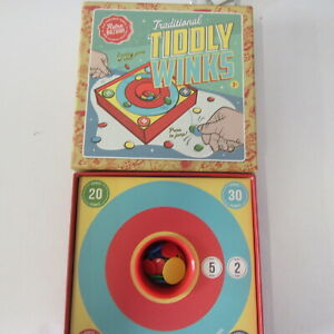 TRADITIONAL  VINTAGE  TIDDLY WINKS  GAME