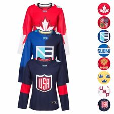 """2016 Nhl Adidas """"World Cup Of Hockey"""" Premier Jersey Le Collection Women's"""