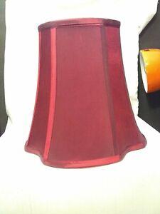 Dale Tiffany™  burgundy  Table Lamp Shade maroon