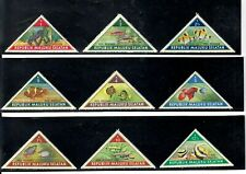 REPUBLIK MALUKU SELATAN SOUTH MOLUCCAS UN + TROPICAL FISHES UNUSED H STAMP SETS