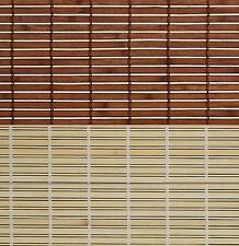 Holz Raffstore Holzrollo Jalousie Raffrollo Bambus Fenster Rollo Seitenzugrollo