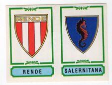 figurina CALCIATORI PANINI 1982/83 NEW numero 540 RENDE SALERNITANA