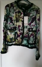 Dolce and Gabanna silk and wool floral jacket