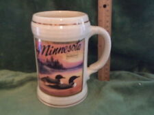 Anheuser Busch Budweiser Stein 1991 Minnesota Wildlife LOON SO53143 Special Even