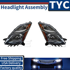 TYC 2X Left Right Headlight Assembly Replacement Kit For 2006-2009 Toyota Prius