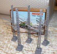 HS Vollmer 1006 Mittelmast 15 cm mit Tragarm 5 Stück  Spur HO  Fabrikneu