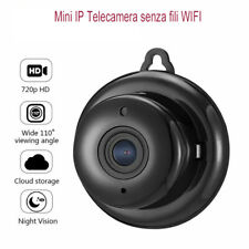 Mini IP Telecamera senza fili WIFI HD 720p Night Vision Camera montato a parete