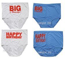Big Size  Lingerie Ladies Mens  Fun Knickers Briefs  Underwear Plus Size 50-52