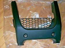 HONDA RINCON 650, 680 FRONT BUMPER BLACK PLASTIC GUARD 03-19,  66310-HN8-000ZA