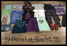 Girls Clothing Lot, 19 Items, Size 14/16, Aeropostale, Body Central, Speechless