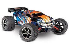 Traxxas E-Revo 4x4 4WD R-Truck brushed TQ2.4GHz+12VLad.+Akku orange RTR 1:16