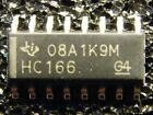 10x SN74HC166D 8-Bit Parallel-Load Shift Register, Texas Instruments