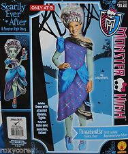 Monster High Threaderella Frankie Stein Girls Dress Up Costume Sz Small 4-6