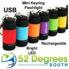 USB Rechargeable LED Pocket Mini Torch +++BRAND NEW+++