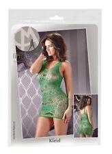 Mini abito a rete verde Tg Unica S-L Mandy Mystery Sexy shop abiti donna 2714868
