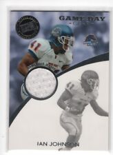 Ian Johnson 2009 Press Pass Game Day Gear RC Rookie JSY Card Boise State Broncos