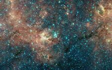 Deep Space NASA Hubble Telescope Realism Image Archival Canvas 25x17 in.