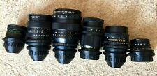 Movie  Set 37-150mm 6 Lenses  PL Arri Red One Ursa Mini 4.6k BMPCC Blackmagic