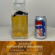 New/Unused HUGE 12 oz/355 mL ARAMIS COLOGNE Collector's Decanter Cologne Splash
