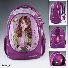 Accessoires sacs à dos rose en toile pour fille de 2 à 16 ans