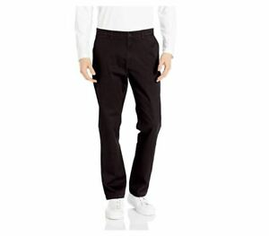 Goodthreads Men's Standard Athletic-Fit Washed Chino Pant Black 29W x 34L NEW