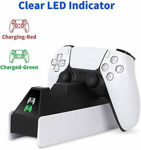 PS5 Controller Charger Stand DualSense Fast Charging Station Dock PlayStation 5