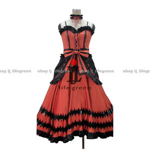 Date A Live Kurumi Tokisaki Formal Dress Uniform COS Cloth Cosplay Costume