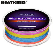 KastKing SuperPower Braided Fishing Line (500-Yard/25LB) - Multi-color