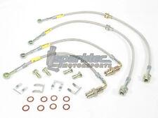 Goodridge G-Stop Stainless Steel Brake Line Kit 03-07 Mitsuibshi EVO 8 9 XIII IX