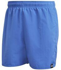 502476fb04 New Mens Adidas Swim Beach Swim Swimming Board Shorts Summer Holidays - Blue