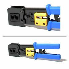 Casinlog 2 en 1 Rj45 Herramienta para crimpadora de cables pelacables para Rj45 Cat6 Cat5E Cat5 Rj11 Rj12