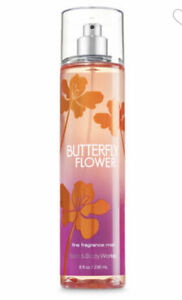 Bath and Body Works BUTTERFLY FLOWER Fine Fragrance Mist ~ 8 fl.oz.