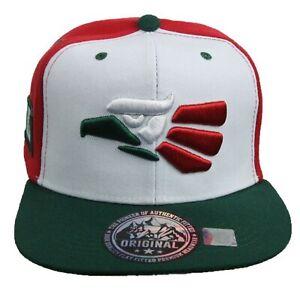 Men Women Baseball Cap Hecho en Mexico Eagle Mexican Flat Bill Snapback Camo Hat