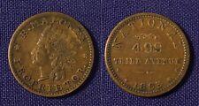 1863 Cvil War Store Card William Bridgens Utica Ny B. Maloney Proprietor 905b-2a