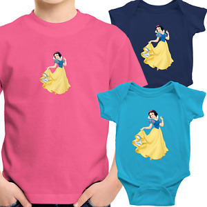 Snow White Princess Toddler Kids Youth Tee T-Shirt Infant Baby Bodysuit Clothes