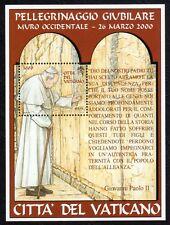 Vaticano 2001 Foglietto Pellegrinaggio Giubilare MNH**
