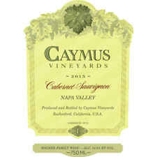 Caymus Cabernet Sauvignon 2015 Robert Parker 97 POINTS! **1 BOTTLE**