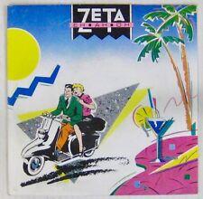 Pochette Vespa Scooter 45 tours Zeta 1985