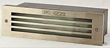 *Intalite Ip54 Exterior Brick Mesh Led recessed wall light led warm white