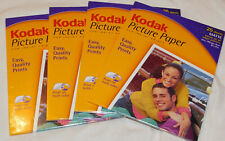 Lot 4 Kodak Picture Paper - Matte - 25 each - 100 Total