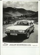 "JAGUAR SOVEREIGN  4.0L PRESS PHOTO "" brochure related"""