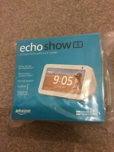 AMAZON ECHO SHOW 5 WHITE - ALEXA SMART SPEAKER DISPLAY - BRAND NEW IN BOX